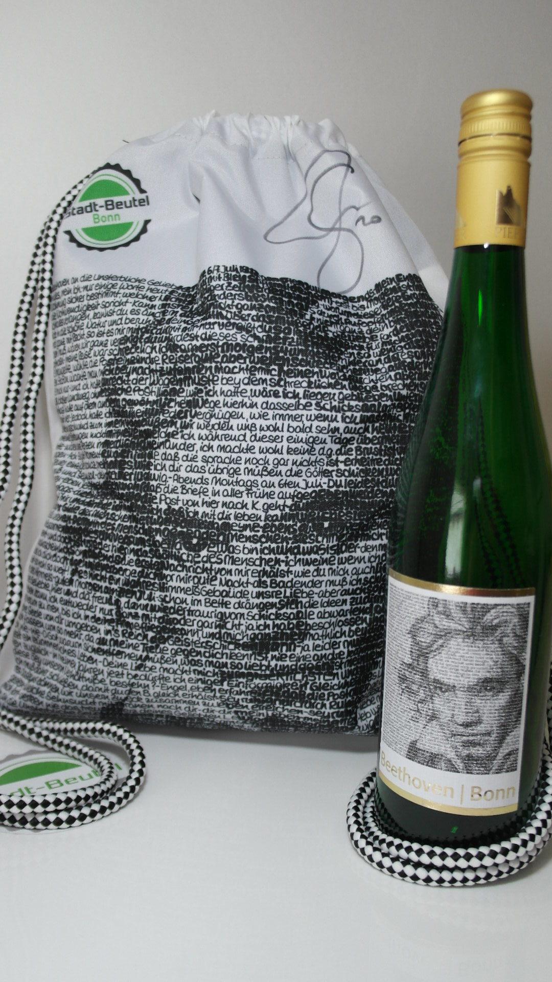 Beethoven Genuss Set Stadt-Beutel Weingut Pieper